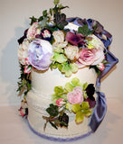 Beautiful Floral Wedding Card Box