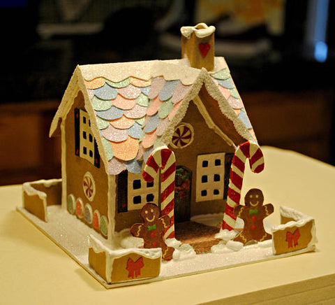 Gingerbread Glitter House