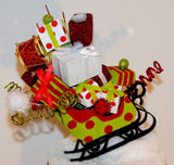 Whoville Sleigh Christmas Gift Box