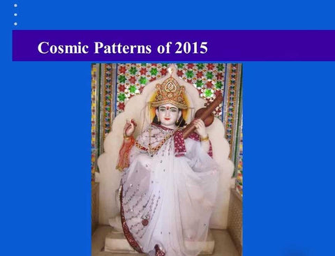 Cosmic Patterns 2015 Forecasts