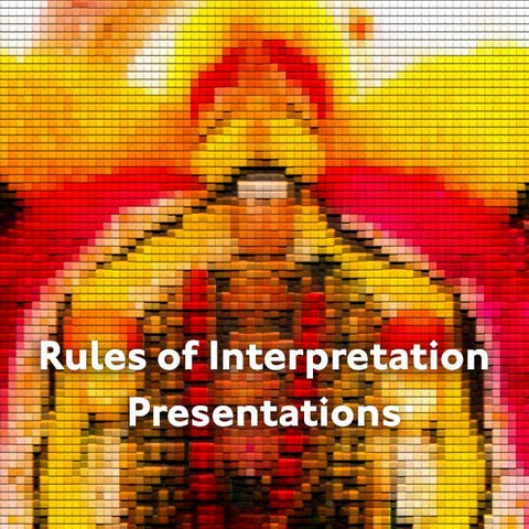 Level 2 Presentations | Rules of Interpretation