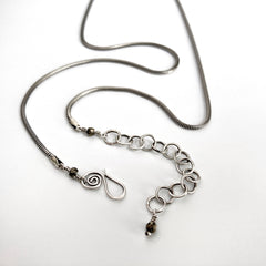 Silver Fern Pendant Necklace