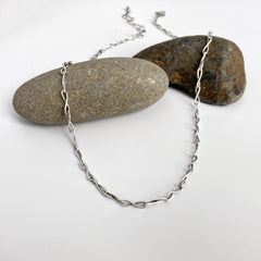 Silver Infinity Chain Necklace