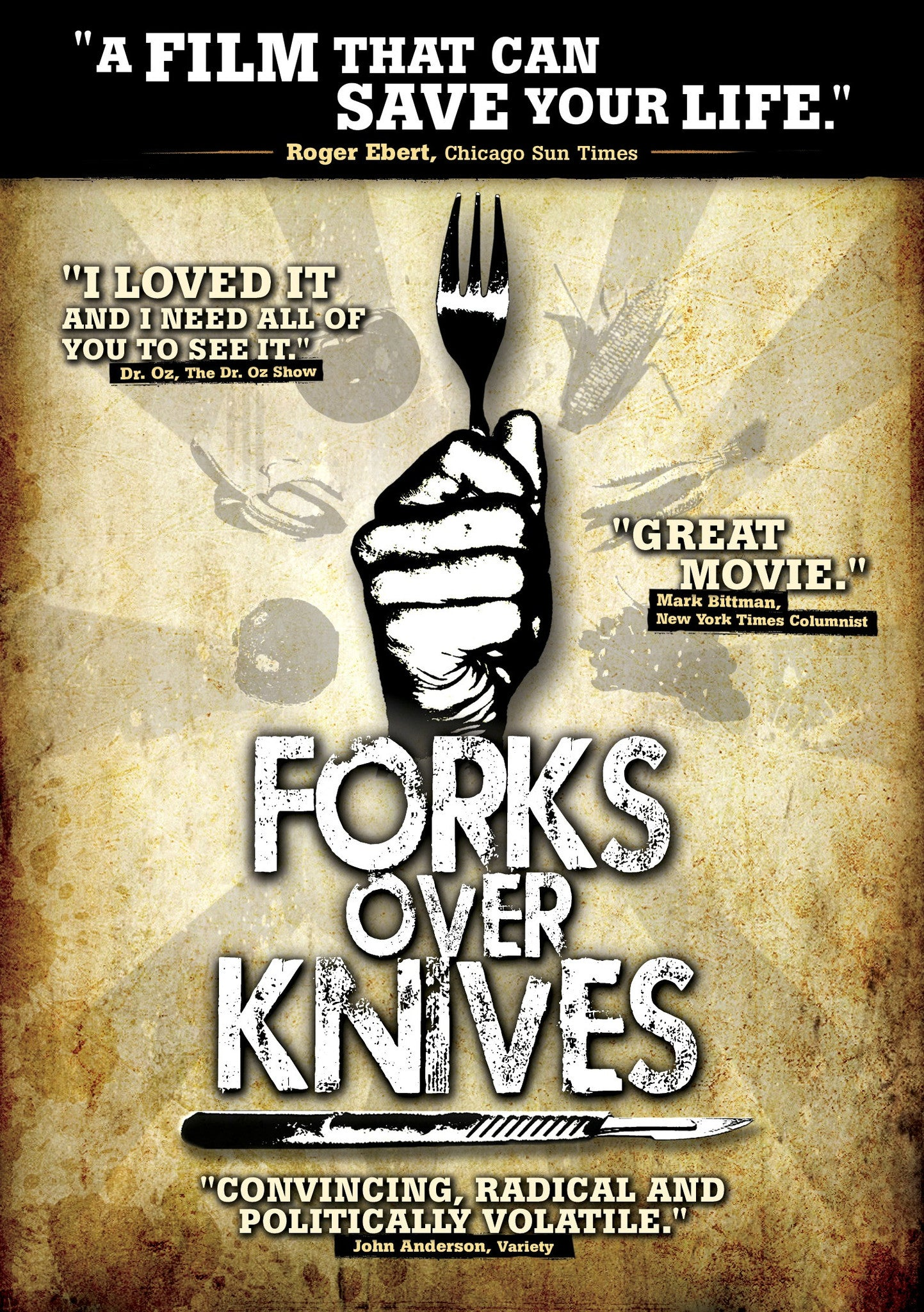 Forks Over Knives Blu-Ray - Chic Vegan