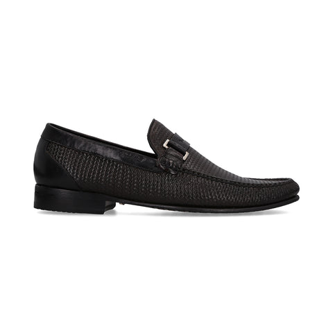 0142_Mocasines Orebro 02 | Mocasin de Piel Negros - Michel Domit