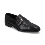 0107_Mocasines Silven 10 | Mocasin de Piel Negros - Michel Domit