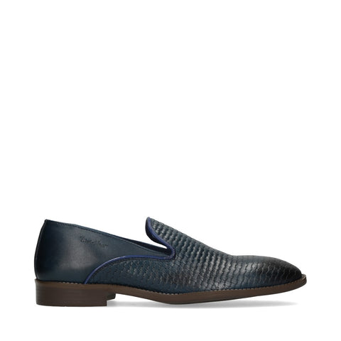 Mocasines Michel Domit TABOR 15 color Azul