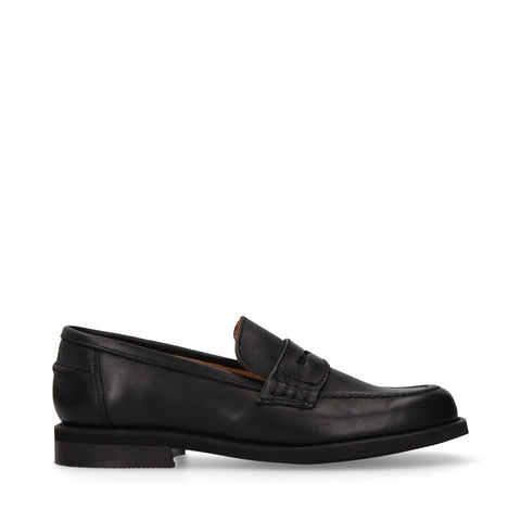 Mocasines Michel Domit de Piel Negro | Enkoping 02