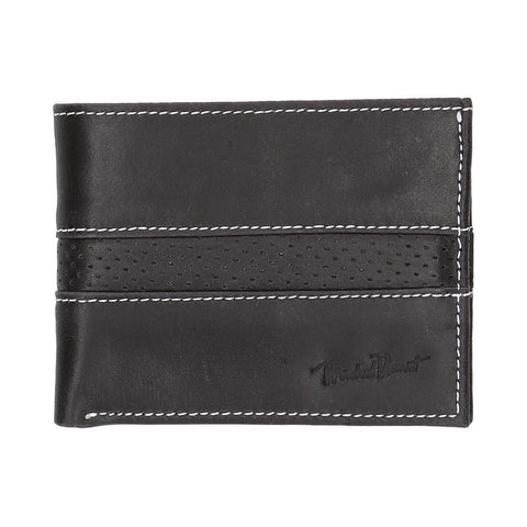 2244_Billetera Mod 517-1 | Cartera de Piel Negra - Michel Domit