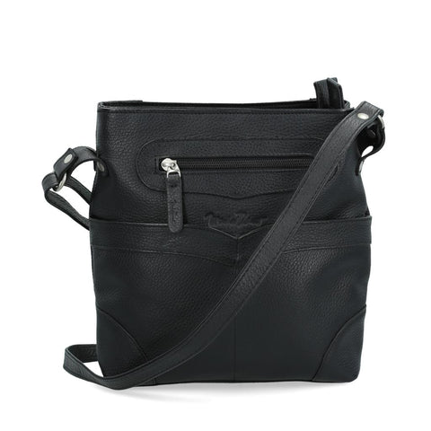 Bolsa Michel Domit de Piel Negro | Vol 5340