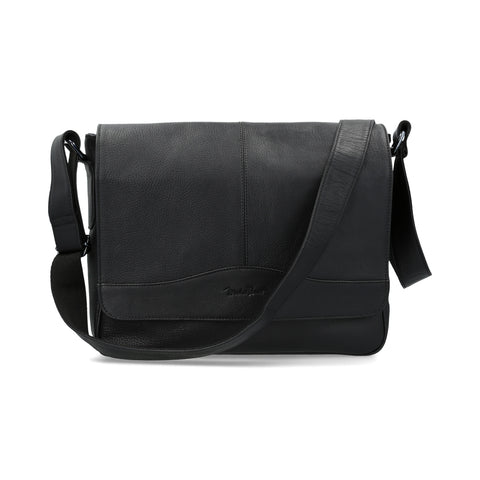 Crossbody Michel Domit de Piel Negro | Wetzikon 04