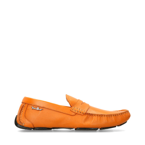 Mocasines Michel Domit de Piel Naranja | Visby 10