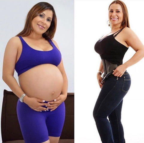 b700aa34b85fc How a waist trainer or body shaper help you lose post baby weight