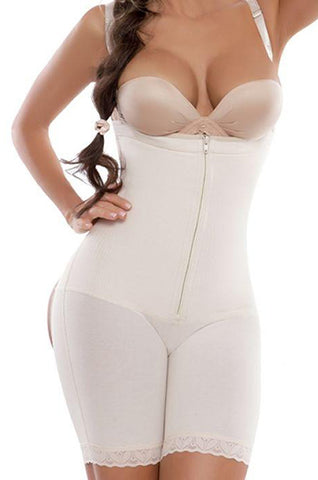 Bodyshaper with butt lifter