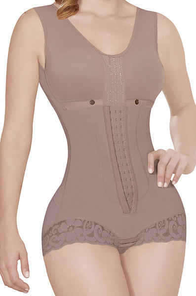Short Style Compression Faja with bra and Back Coverage