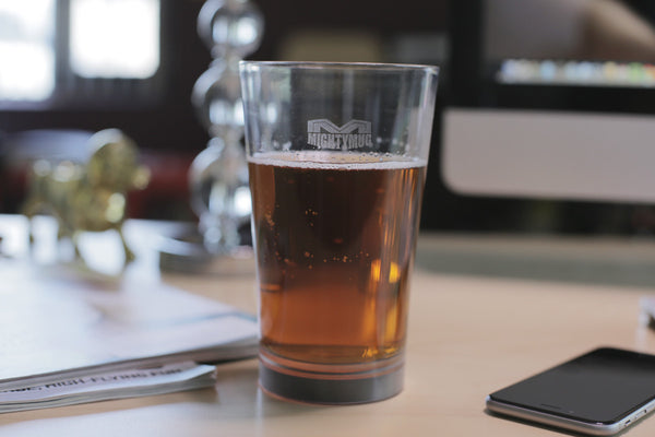 Mighty Mug Barware : PINT GLASS - Set of 2 for $15 ea
