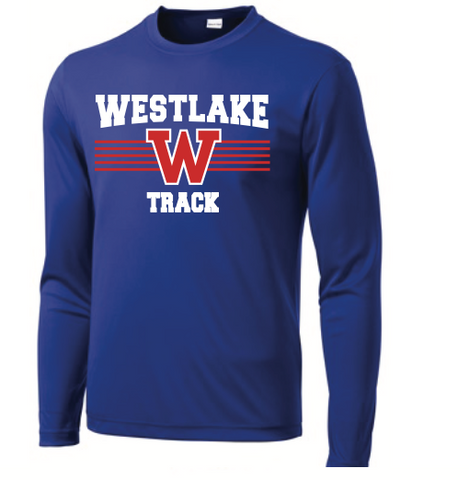 Track Long-Sleeved Dri-Fit Tee