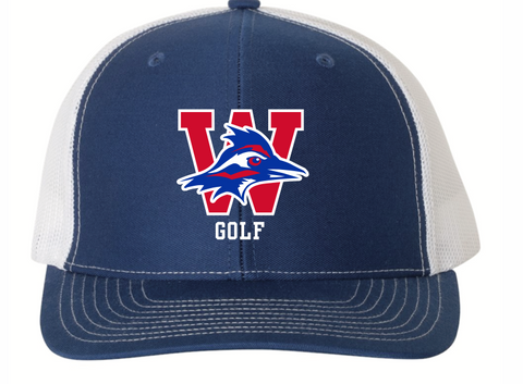 Golf Mesh Back Hat
