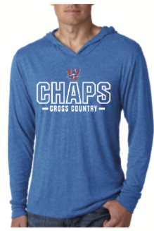 Cross Country Hooded Long-Sleeve T-shirt
