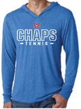 Tennis Hooded Long-Sleeve T-shirt