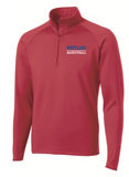 Lady Chap Long Sleeve 1/4 Zip Pullover