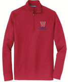 Basketball Long Sleeve 1/4 Zip Pullover