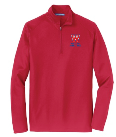 Lady Chaps Long Sleeve 1/4 Zip Pullover