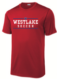 Boys Soccer short-sleeved dri-fit tee