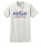 Boys Soccer Short-sleeved Cotton Tee