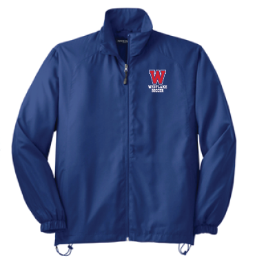 Boys Soccer Full Zip Windbreaker