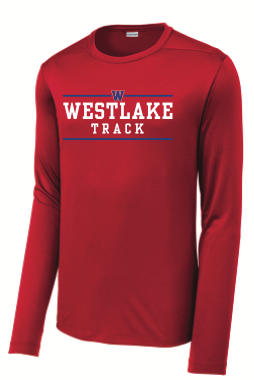 Boys Track Long-Sleeved Dri-Fit Tee