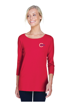 Baseball Women's Knit Top