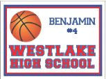 Basketball Yard Sign – Freshman/JV