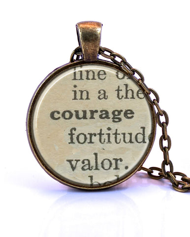 Courage Small Pendant-Small Pendant-Paper Towns Vintage