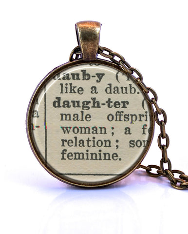Daughter Small Pendant-Small Pendant-Paper Towns Vintage