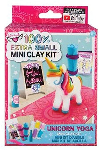 100% Extra Small Mini Clay Kits: Unicorn Yoga Mini Clay Kit (Fashion Angels)