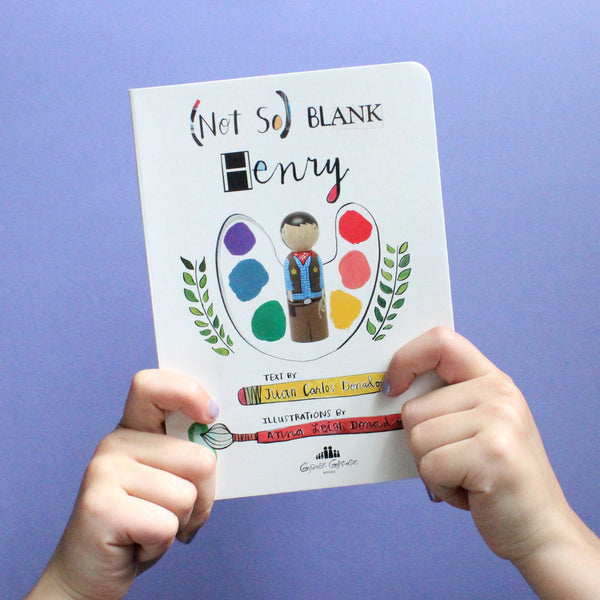 (Not So) Blank Henry - Children's Board Book