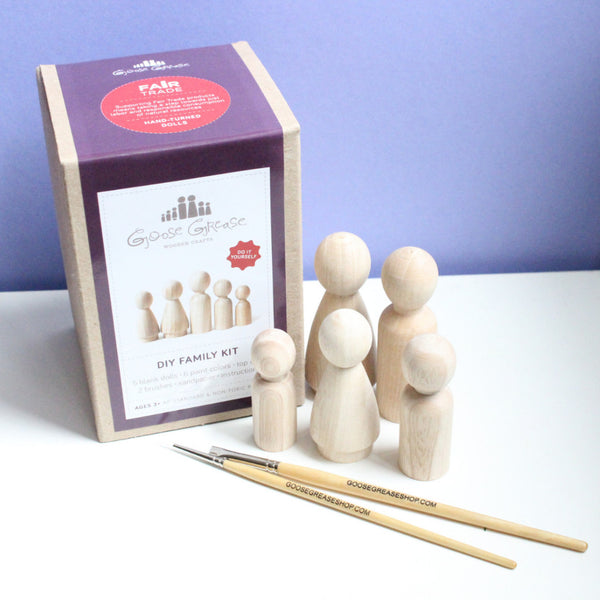 Family Peg Doll DIY Kit
