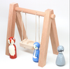 Dollhouse Swing set and Woodland Animals