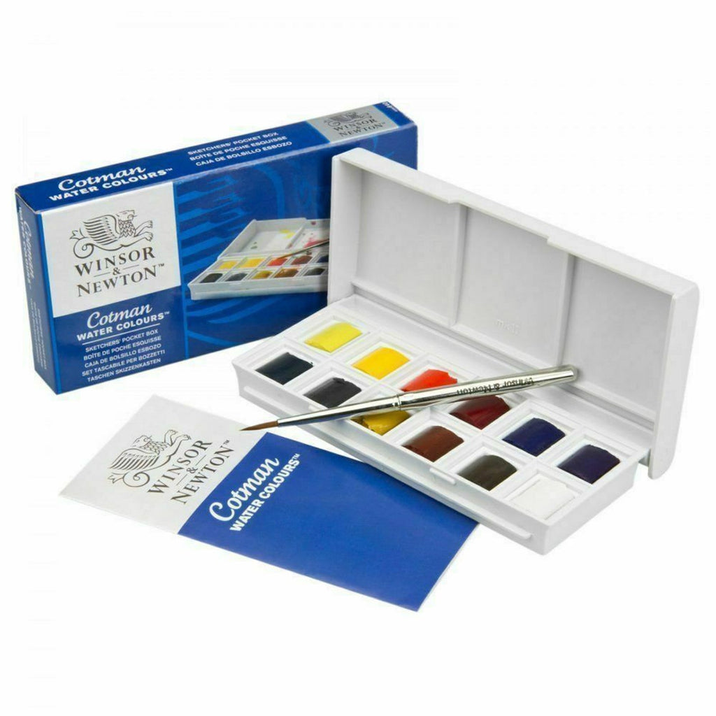 Cotman Watercolor Sketchers Pocket Box (Winsor & Newton)