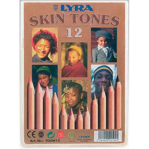 Color-Giants Skin Tones Colored Pencil Set