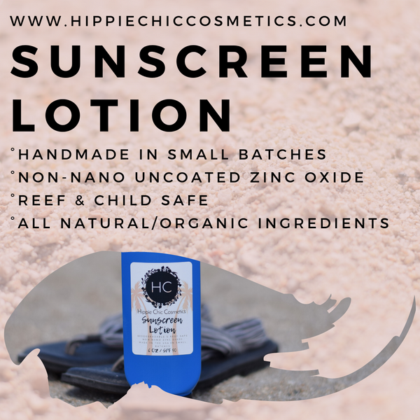 Organic Sunscreen Lotion (Baby Safe)