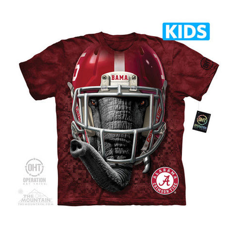 Bama Warrior Mascot Kids T-Shirt - Shoppzee