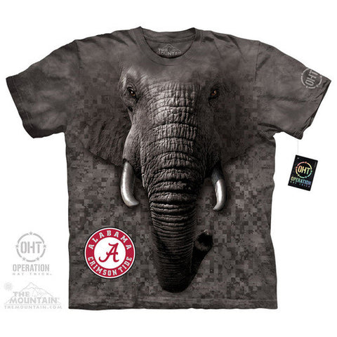 BIG FACE CRIMSON TIDE CAMO Adult T Shirt - Shoppzee