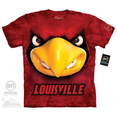 Louisville Cardinals Big Face Louie