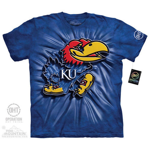 Big Jay Inner Spirit T-Shirt Kansas Jayhawks T Shirts - Shoppzee
