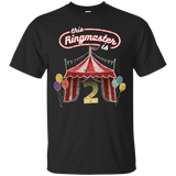 Kids Ringmaster Costume Circus Ringmaster Shirt 2nd Birthday Kids