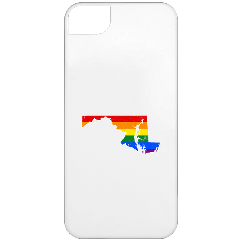 Maryland Rainbow Flag LGBT Community Pride LGBT Shirts  iPhone 5 Case