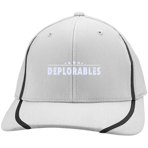 Deplorables Flexfit Colorblock Cap - Shoppzee