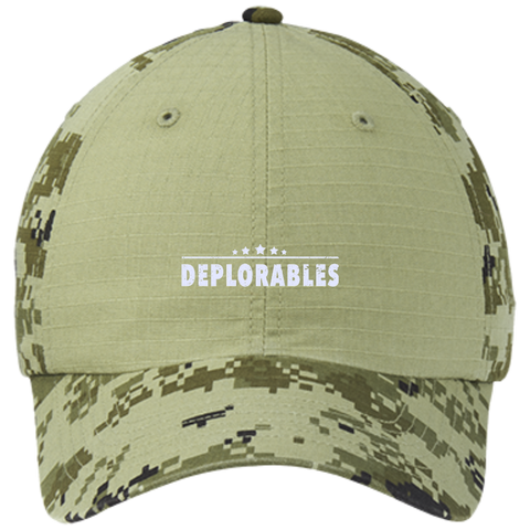 Deplorables Colorblock Digital Camouflage Cap - Shoppzee